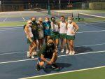 Varsity Girls Tennis wins over Wilson