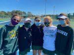 Varsity Girls Tennis wins today!