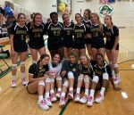 Varsity Girls Volleyball wins over Darlington