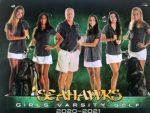 Girls Golf All Region Teams include 3 Seahawks-Kelly, Jana and Sophia