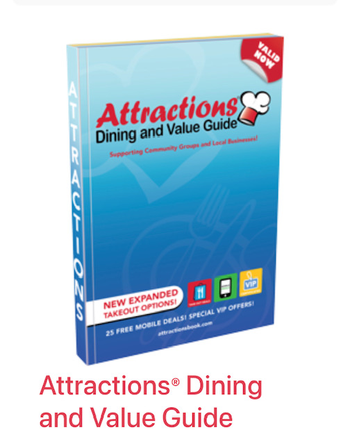Support Girls Softball by purchasing an Attractions Coupon book