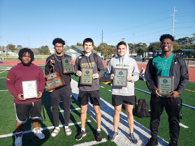 Congratulations to our Varsity Football Team on Post Season Awards from The Sun News and WPDE