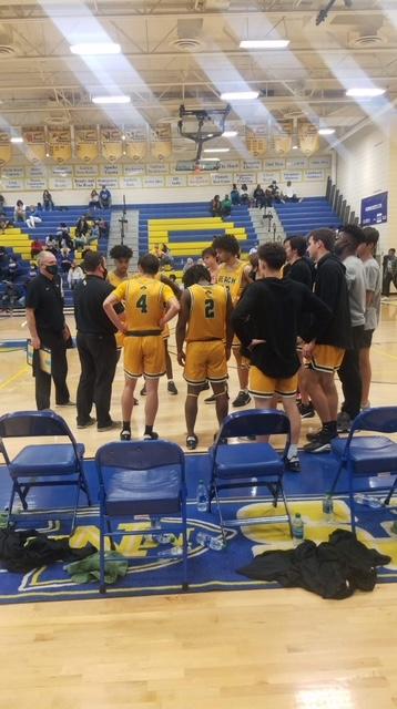 Varsity Boys Basketball back in action