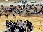 Varsity Boys Basketball wins in OT, 75-74