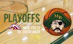 Boys Basketball Playoffs start Monday, Feb. 22 at 7 pm