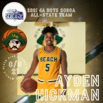 Ayden Hickman selected to All State Basketball Team