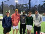 Boys Tennis Wins on Monday night