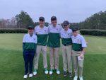 Boys Golf Team wins their first match