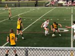 Varsity Girls Soccer wins on Monday night