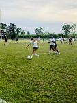 Girls JV Soccer wins on Friday