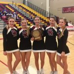 Cheer Stunt Team Shines!