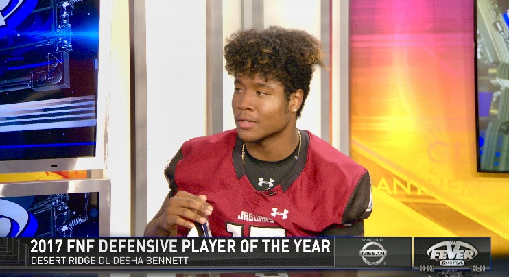 Bennett Named 6A Defensive Player of the Year!