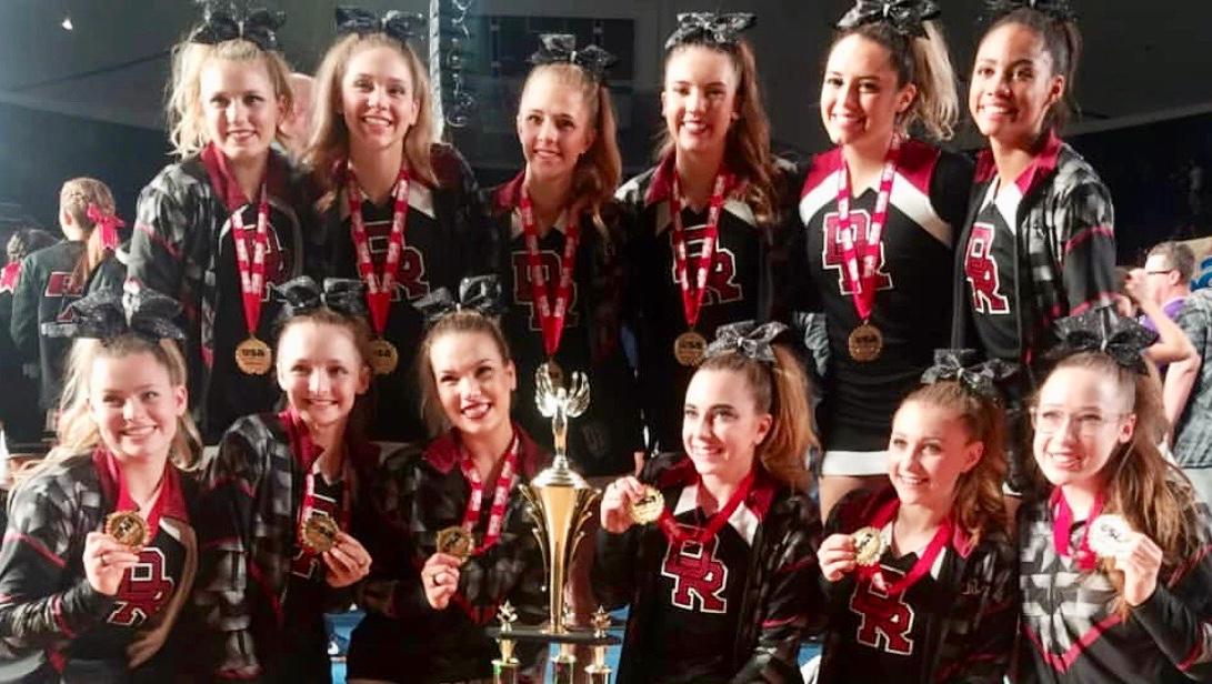 Jaguar Cheer Shines at Nationals!!