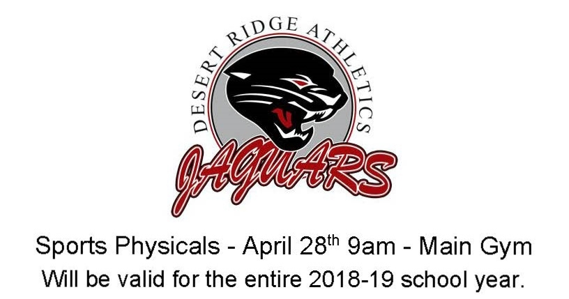 2018-19 Sports Physicals Here at DRHS