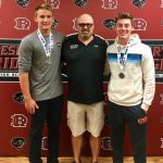 State Swim Champs and Coach of the Year Recognized!