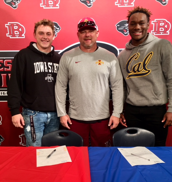 Hathcock and Lee Sign Letters of Intent!