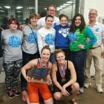 Spartan Ladies Swim Team Wins League Title