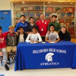 Boys Soccer Players Sign Letters of Intent