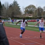 Track Survives Weather and Picks Up Wins in Double Dual Meet