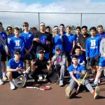 Hillsboro High School Boys Varsity Tennis ties North Marion High School 4-4