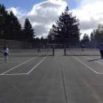 Hillsboro High School Girls Varsity Tennis ties North Marion High School 4-4