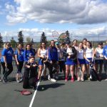 Hillsboro High School Girls Varsity Tennis falls to Parkrose High School 7-2
