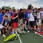 Hillsboro High School Boys Varsity Tennis beat Saint Helens High School 5-4
