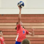 Hillsboro Girls Varsity Volleyball Tamed the Milwaukie Mustangs