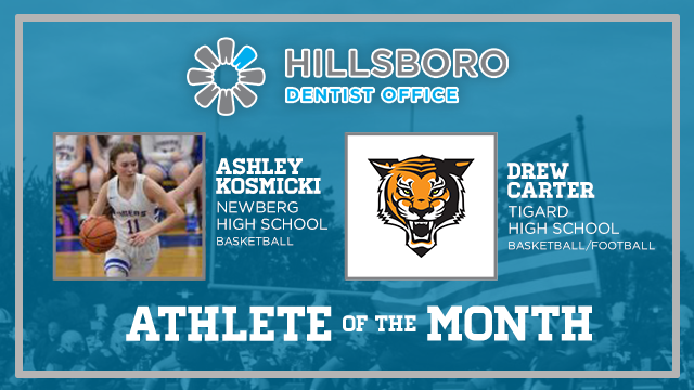 Time to recognize the Hillsboro Dentist Office December Athletes of the month…