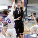 Northview High School Boys Varsity Basketball falls to Wic Championship Cross-Over Game 74-66