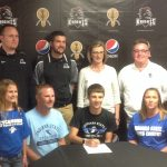 Trout Signs with ISU