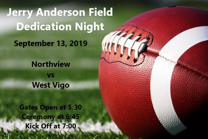 Jerry Anderson Field Dedication Night