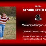 Spring Sports Senior Spotlight