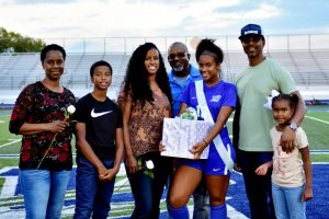 Girls Soccer Senior Night, Tuesday, photos by Volunteer Elise and Don Speeg