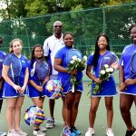 Girls Tennis Senior Night, Tuesday, October 2, 2018