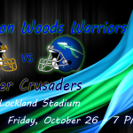 Winton Woods Warriors vs. Moeller Crusaders Friday, October 26 at Lockland Stadium