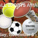 Fall Sports Awards Night – Monday, November 5 – 7 pm