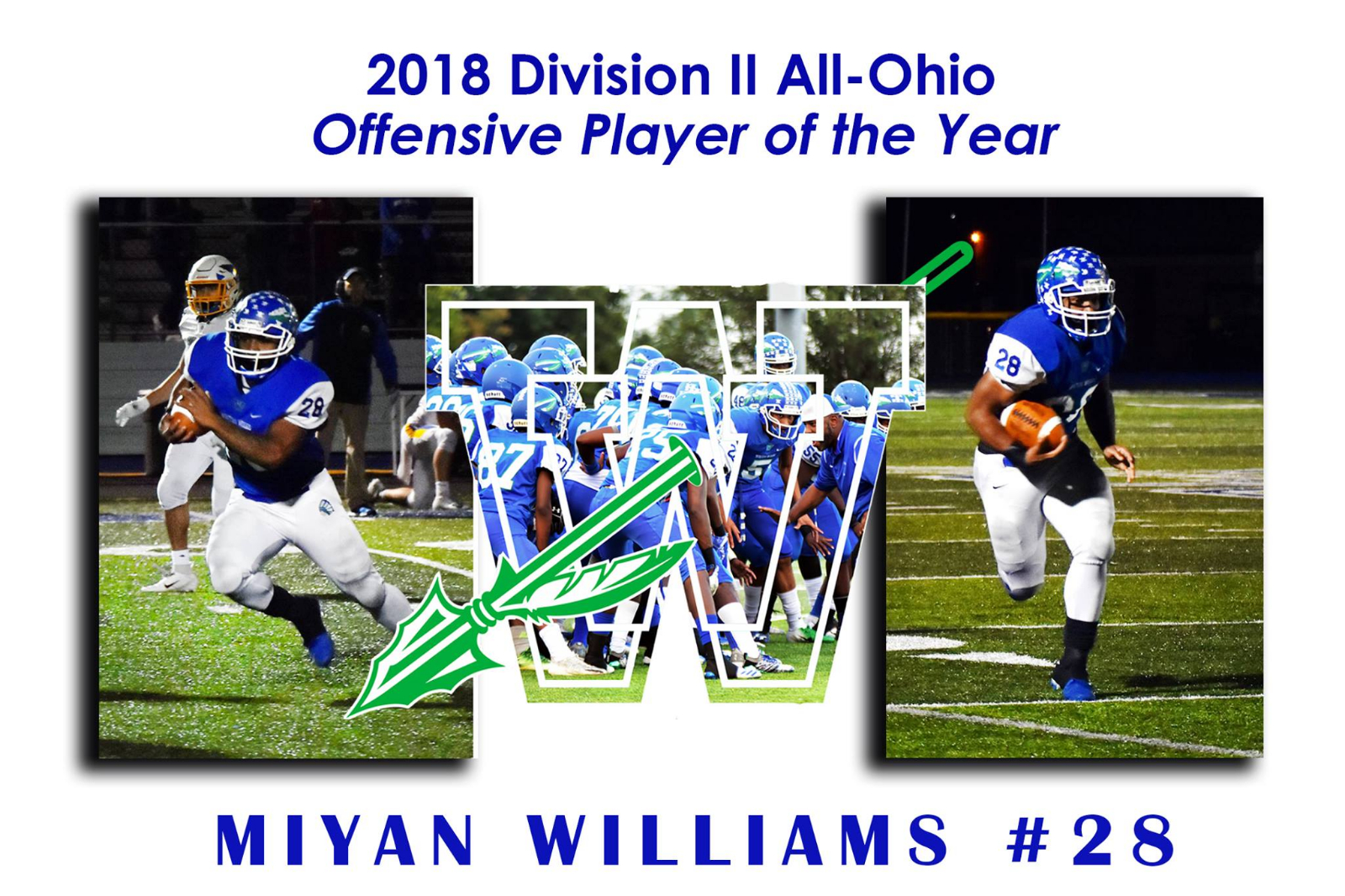 2018 Division II All-Ohio Offensive Player of the Year