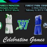 Greenhills Pioneers and Forest Park Chargers Throwback Games