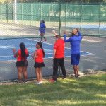 Girl Varsity Tennis falls to Mt. Healthy
