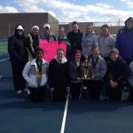 Marion High School Tennis Varsity Girls finishes 1st place at Mt. Vernon Invitational