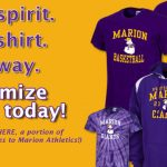 Customizable Marion Spirit Wear