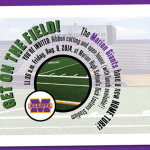 You're invited: GET ON THE FIELD!