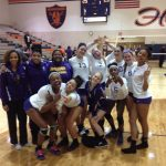 Volleyball Earns Sectional Win