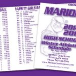 Winter All-Sports Pocket Schedule (and updates)