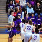 Marion Defeats Oak Hill in Girls Basketball