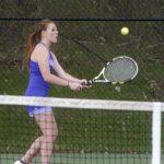 #13 Tennis Team Wins 2 This Week