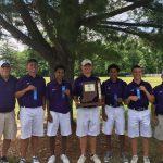 Boys Golf Wins Sectional Championship