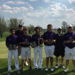 Boys Varsity Golf finishes 1st place at Monroe Central Invite