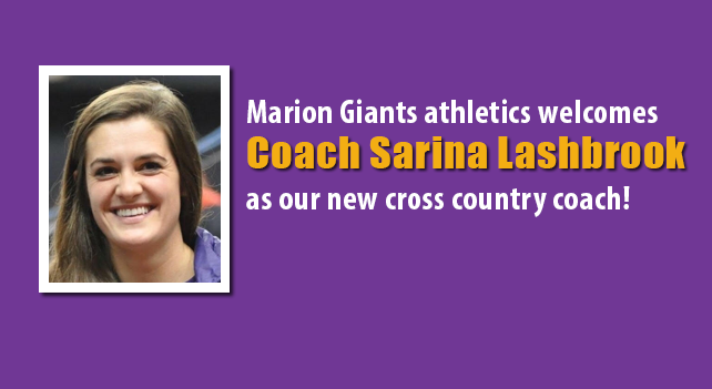 Lashbrook to lead the Marion Giants cross country team